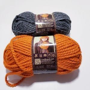 Lions Brand Wool-Ease Yarn 2 Skeins